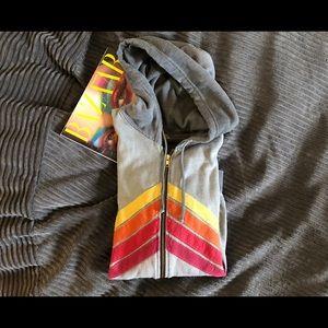 aviator nation zip hoodie